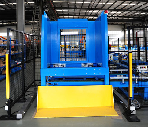 D1 pallet dispenser/pallet magazine/pallet feeder