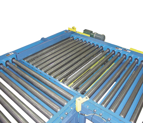 90 Degrees Pallet Transfer Conveyor