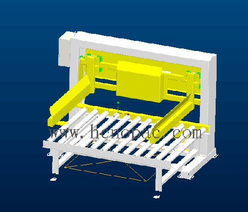 side load pallet magazine pallet collector