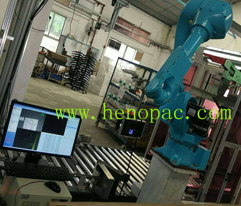 robot vision to check the label or ink (MFG,EXP,Barcode) on carton
