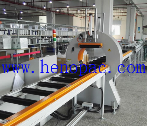 aluminum bar/tube orbital wrapping machine project